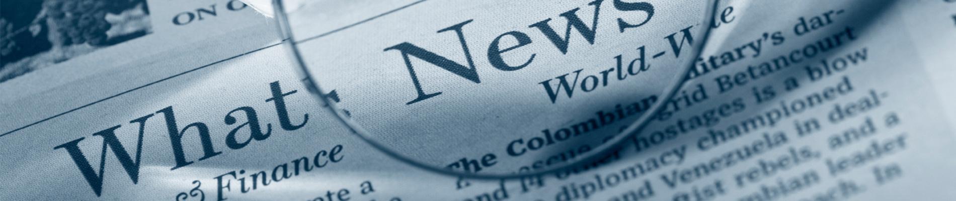 banner - newsprint